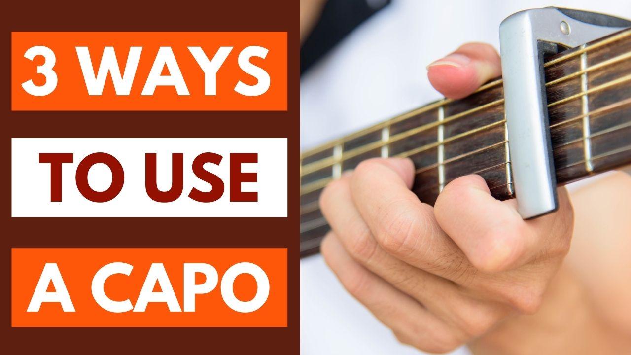 Guitar Capo Tutorial Video Pic