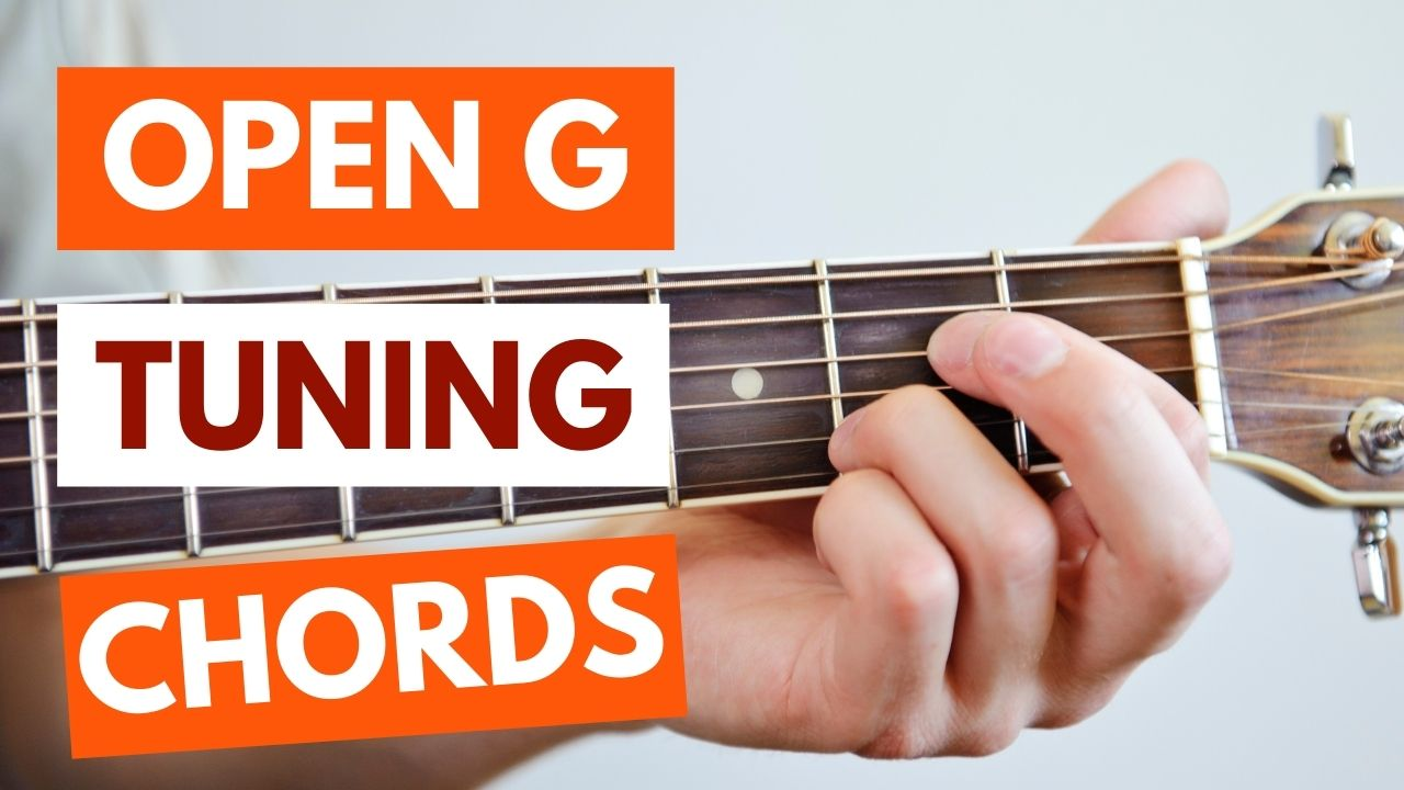 Open G Tuning Guitar Chords Image