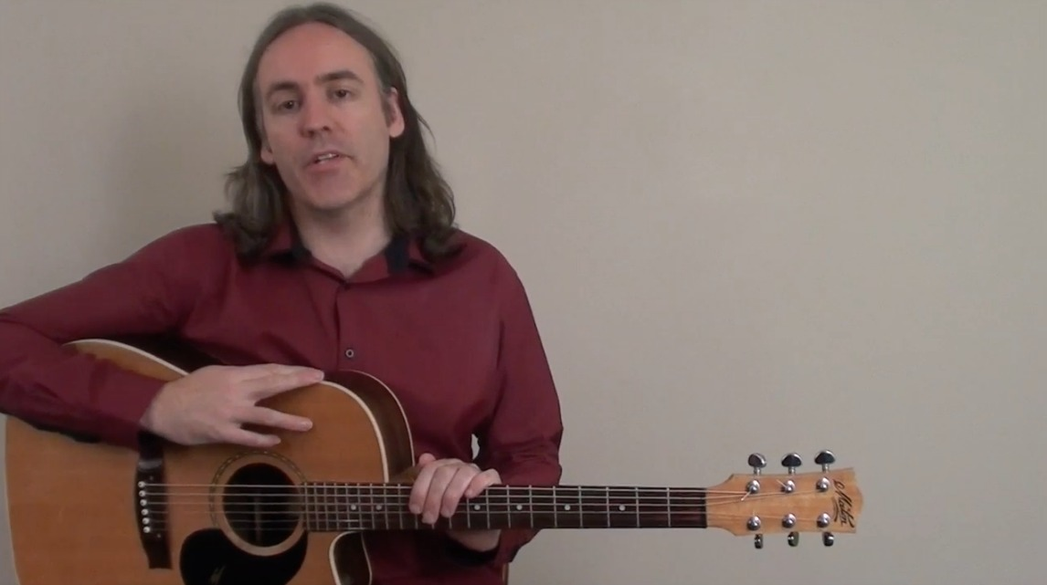 Acoustic Blues Open String Guitar Solo