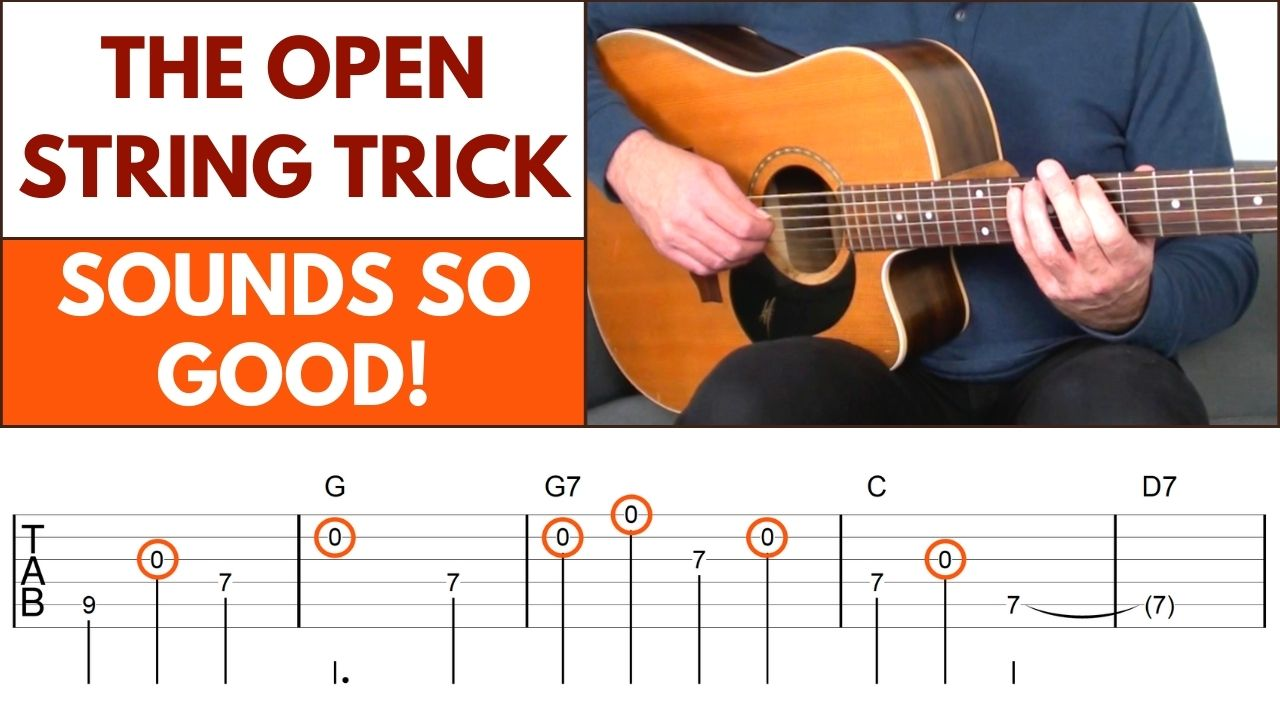 Open String Guitar Melodies Article Image