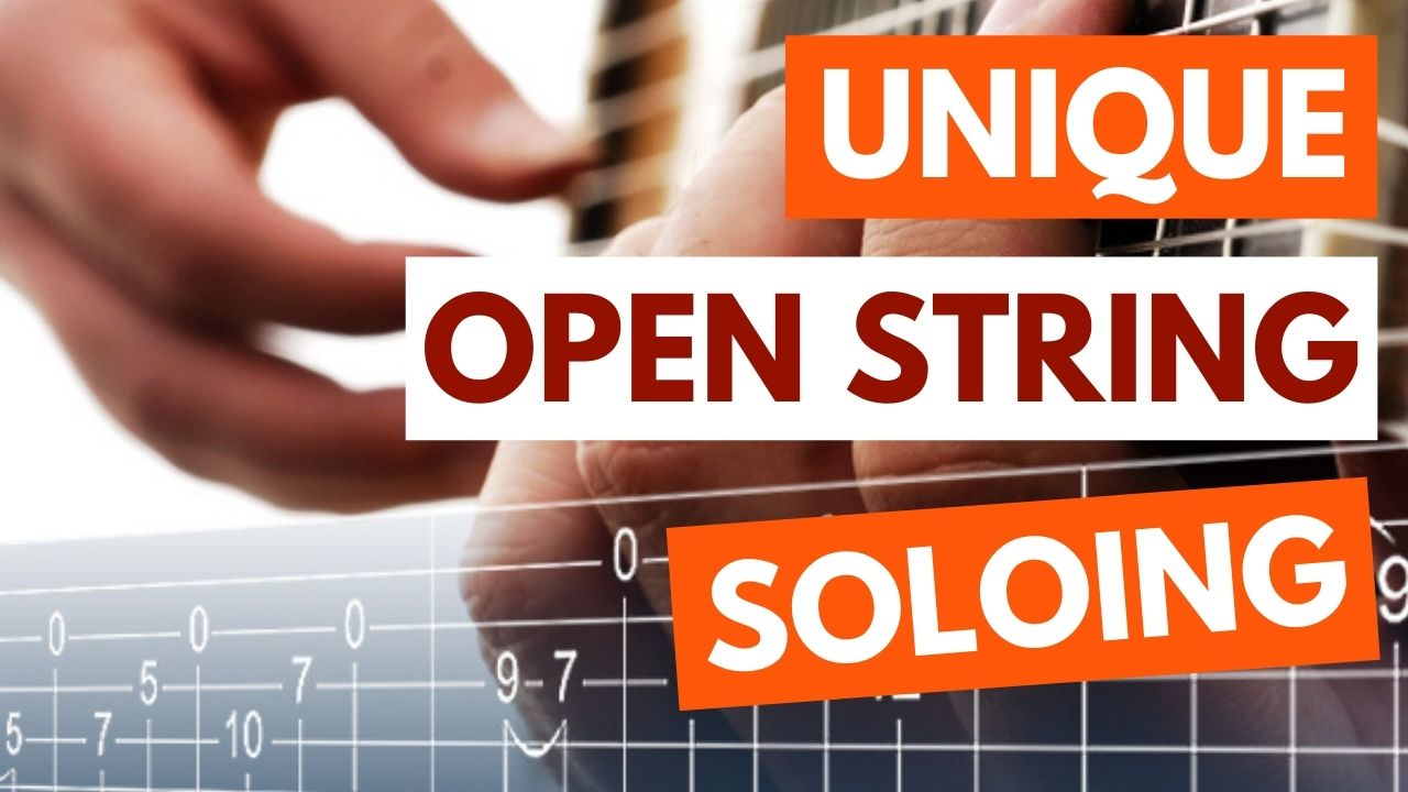Open String Guitar Riffs And Runs Article Image