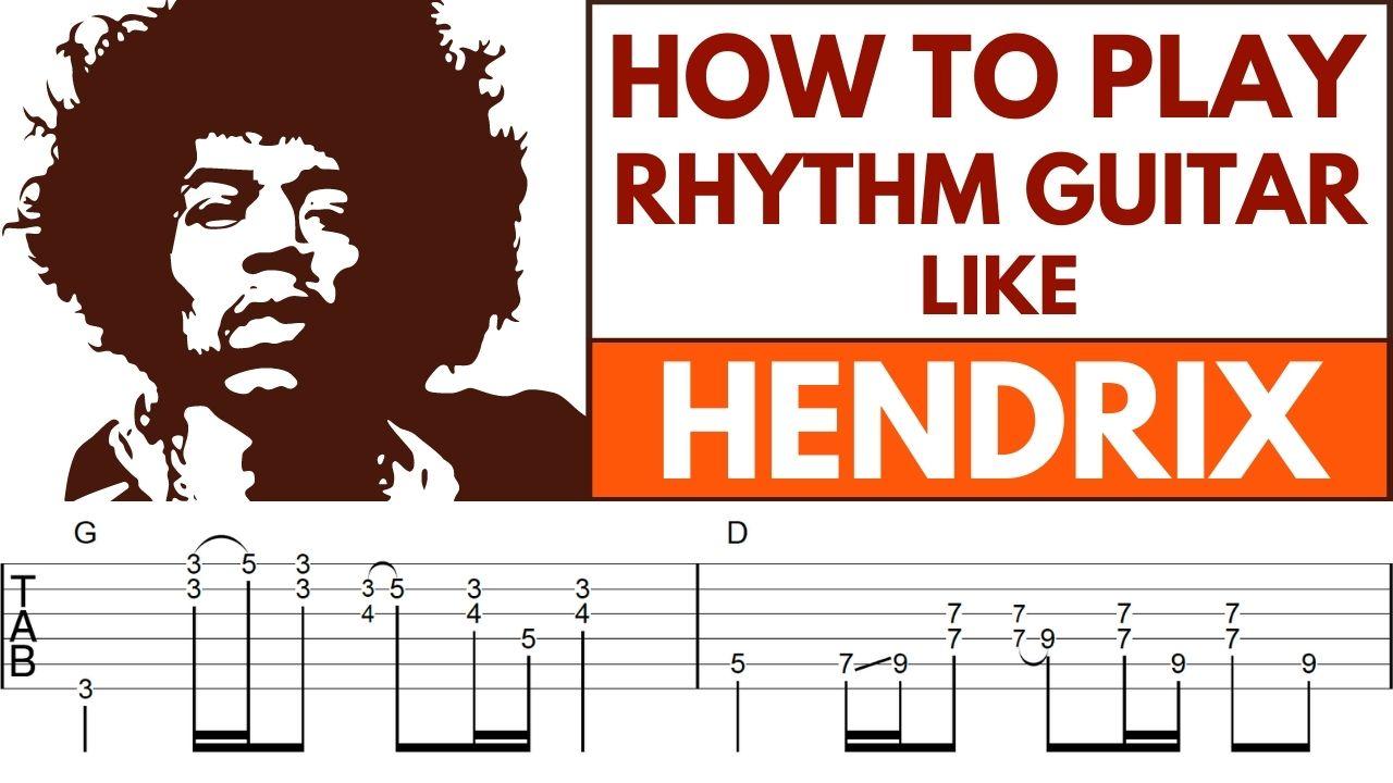 Lead Guitar Chord Rhythm Fills Image