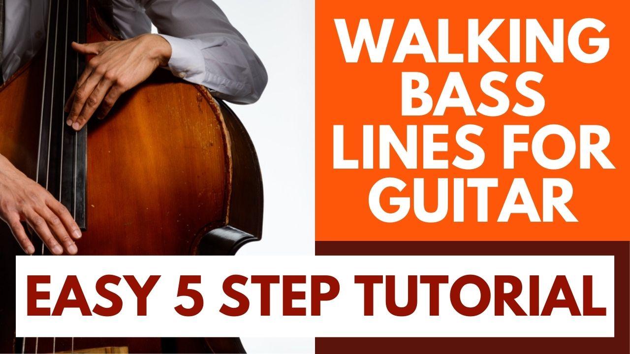 Walking Bass Lines Guitar